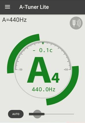 نرم افزار A Tuner Lite جهت چک تیون هنگ درام