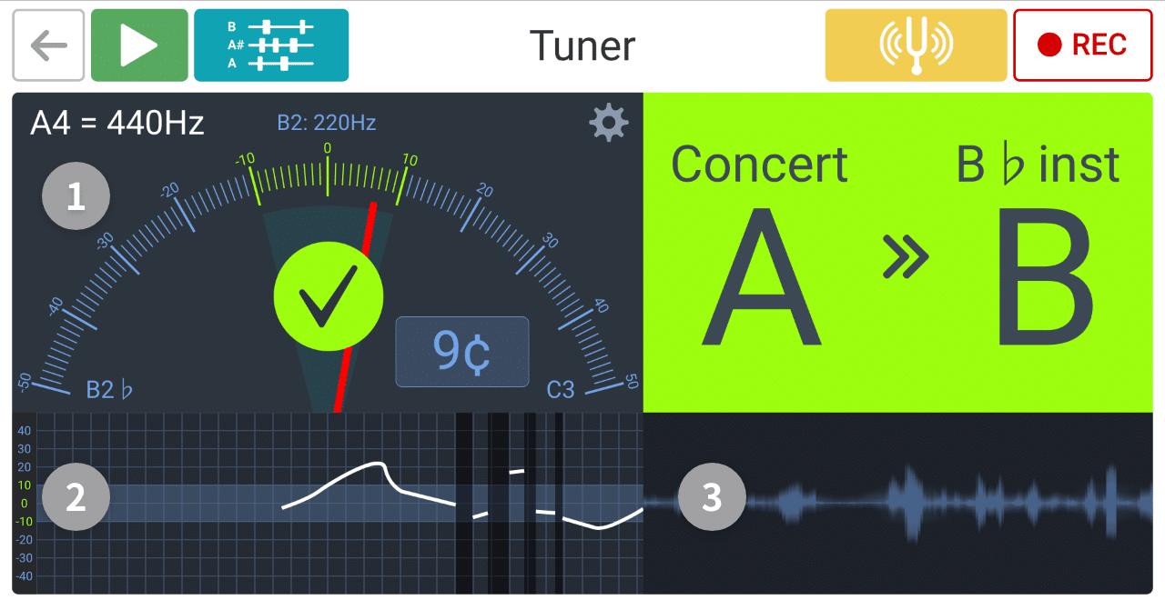 نرم افزار Soundcorset جهت چک کردن تیون هنگ درام